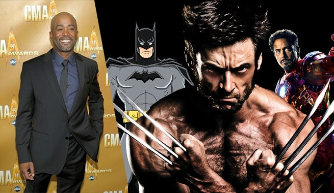 Darius Rucker Geeks Out Over Comics, Movies, & Wolverine