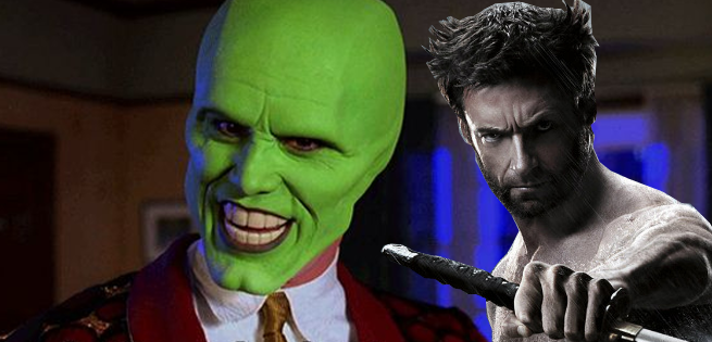 Hugh Jackman Mimics The Mask, Jim Carrey Responds As Wolverine