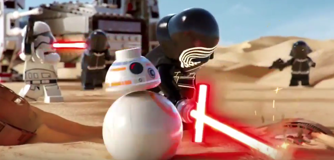 Star Wars: The Force Awakens LEGO Commercial Released