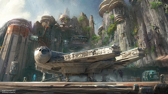 Star Wars Land To Begin Construction In 2016