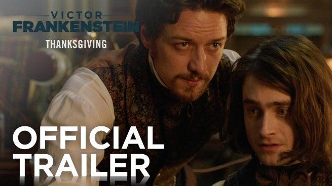 Victor Frankenstein Trailer Officially Released