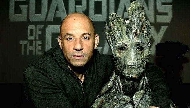 Vin Diesel Guardians Of The Galaxy