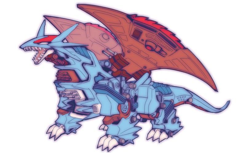 Risultati immagini per pokemon zoids