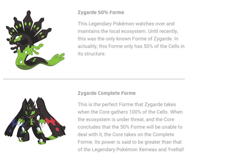 alle legendere pokemon