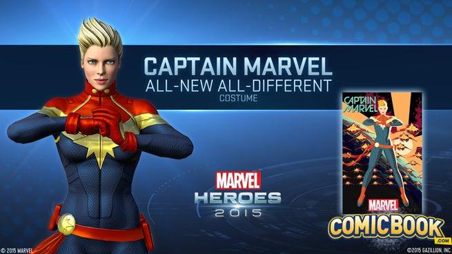 captain marvel 2015