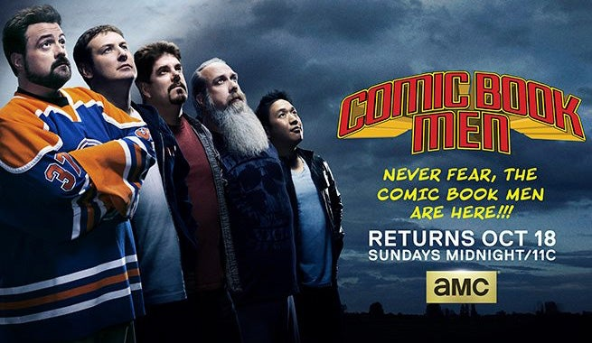 New Comic Book Men Season 5 Poster Released