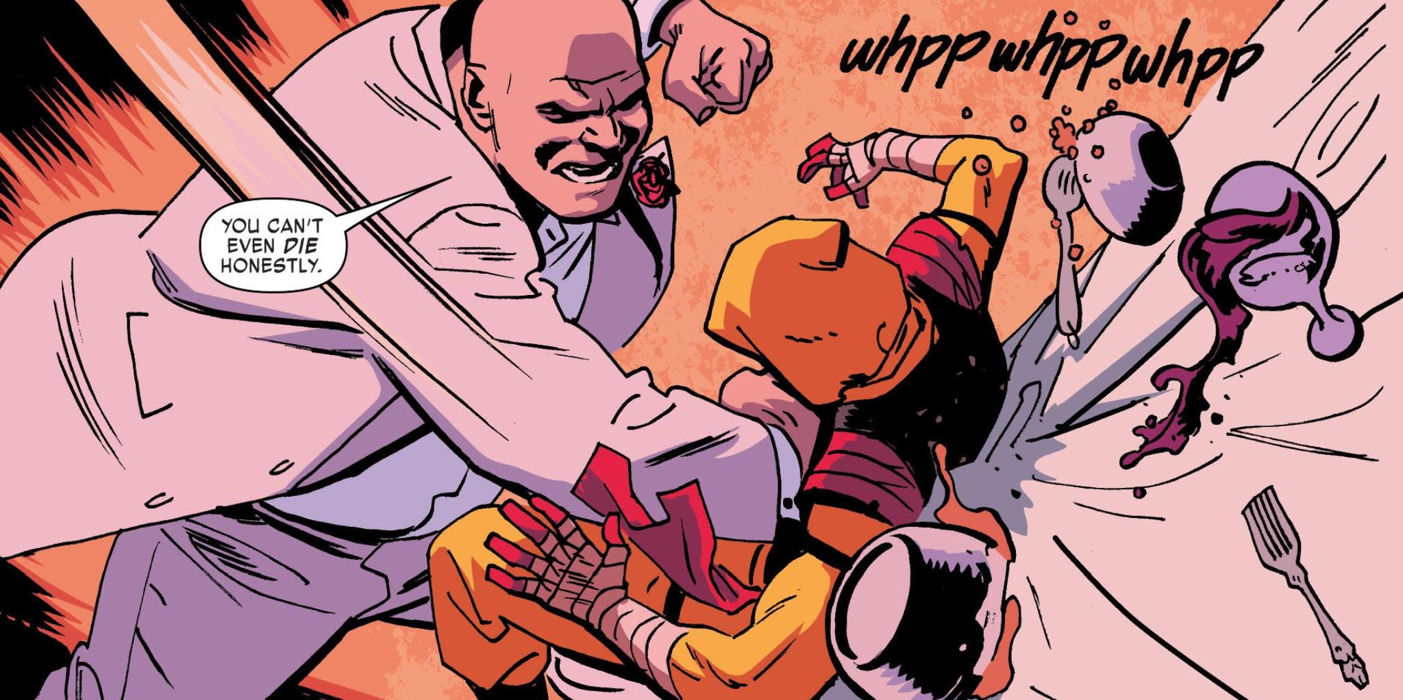 Daredevil #18 Review - Fight