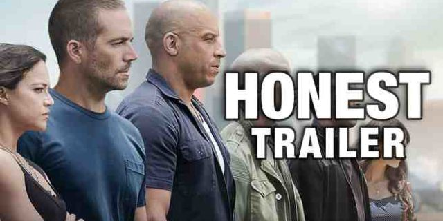 furious 7 honest trailer
