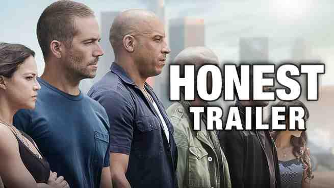 Furious 7 Gets An Honest Trailer