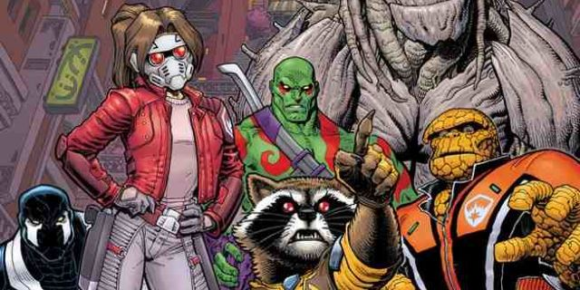 Guardians of the Galaxy 1 Cover