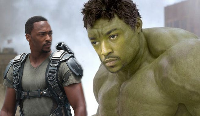 Anthony Mackie Would Like To Play The Hulk