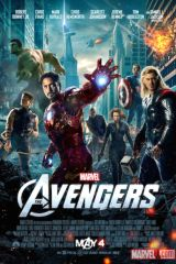 Marvel's The Avengers movie poster image