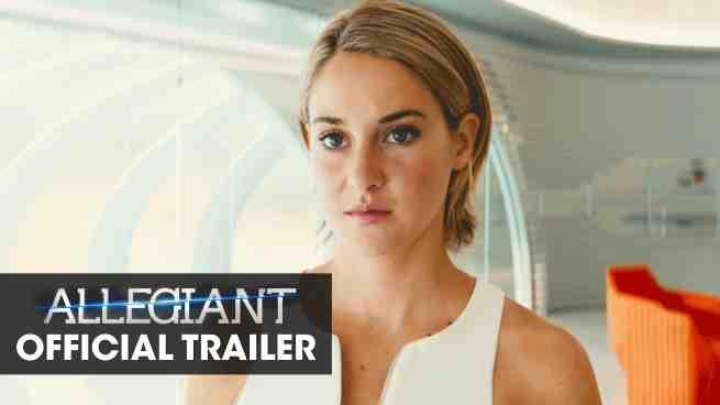 The Divergent Series: Allegiant Teaser Trailer Released