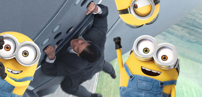 Box Office: Mission: Impossible - Rogue Nation & Minions Open Big In China