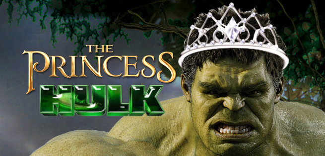 This Princess Hulk Cake Is Adorable And Awesome