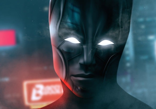 Check Out This Awesome Rendition of Robbie Amell as Batman Beyond