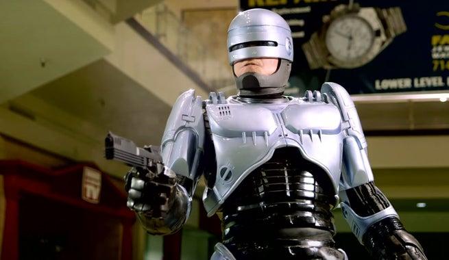 Robocop Takes On Mall Duty In Fan Film