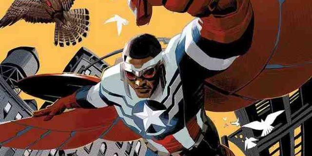 Sam Wilson Captain America 1 Cover