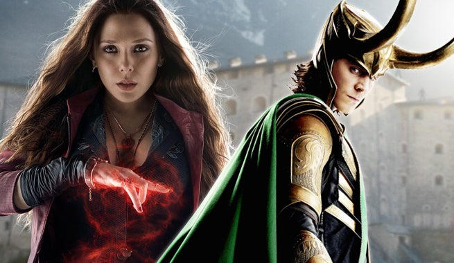 """loki and scarlet witch dating I think somewhere in that film scarlet witch shows all the avengers their sort of   """"thor has a dream and meets loki, and it's terrifying for him."""