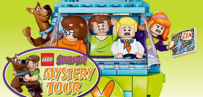 LEGO Scooby Doo Mystery Tour Announced