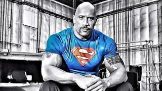 the-rock-superman-t-shirt