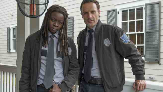 The Walking Dead Stars And Showrunner Discuss The Possibility Of A Rick Michonne Romance