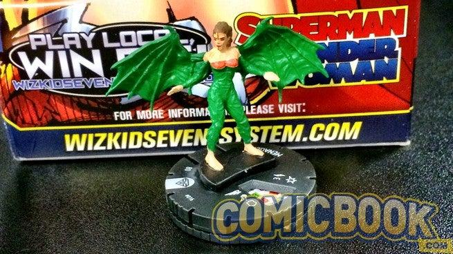 #014 Common figure w//card! Heroclix Justice League set Green Arrow Connor