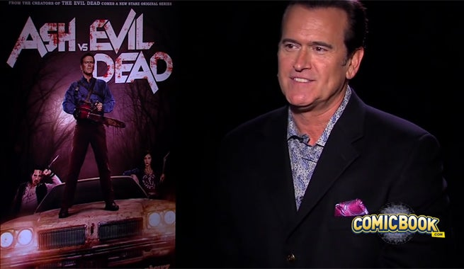Happy Birthday! Bruce Campbell Turns 58 Years Old