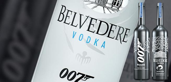 Belvedere Vodka To Have 007 James Bond Bottles