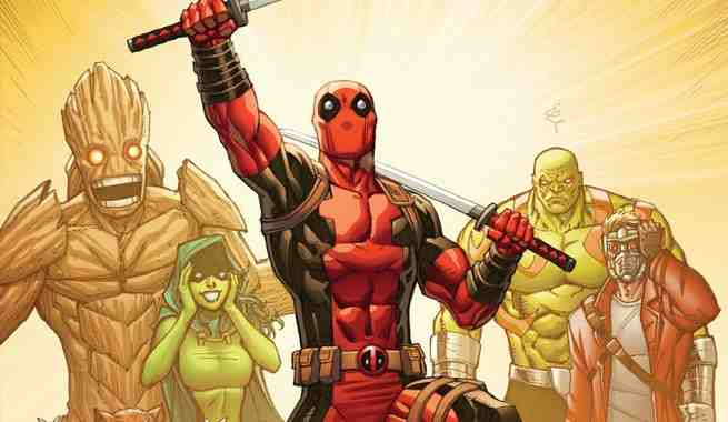 exclusive deadpool vs thanos 4 variant by ron lim