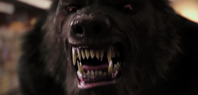 New Goosebumps Clips Featuring A Werewolf Behind The Scenes Footage