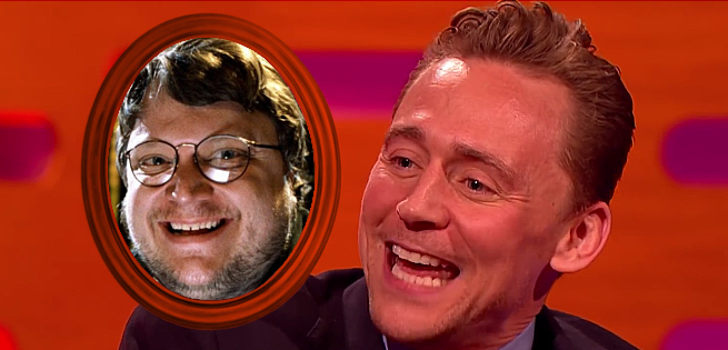 Tom Hiddleston Does An Impression Of His Crimson Peak Director Guillermo del Toro