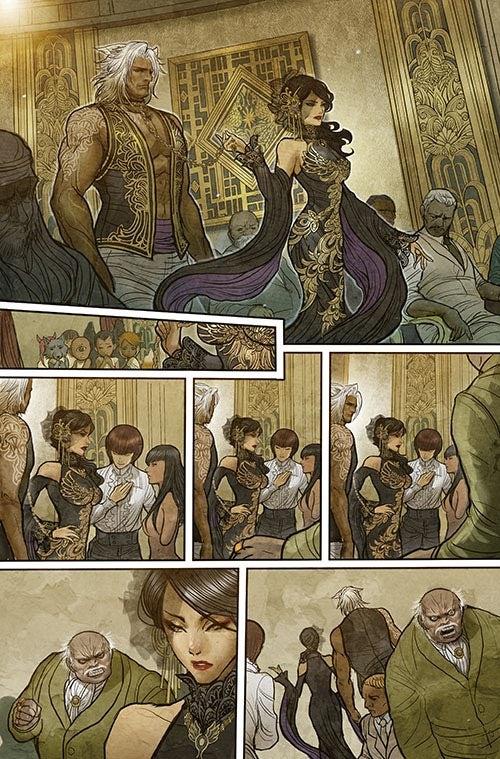 Monstress #1 - Page Three