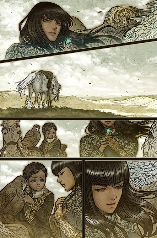 Monstress #1 - Page Five