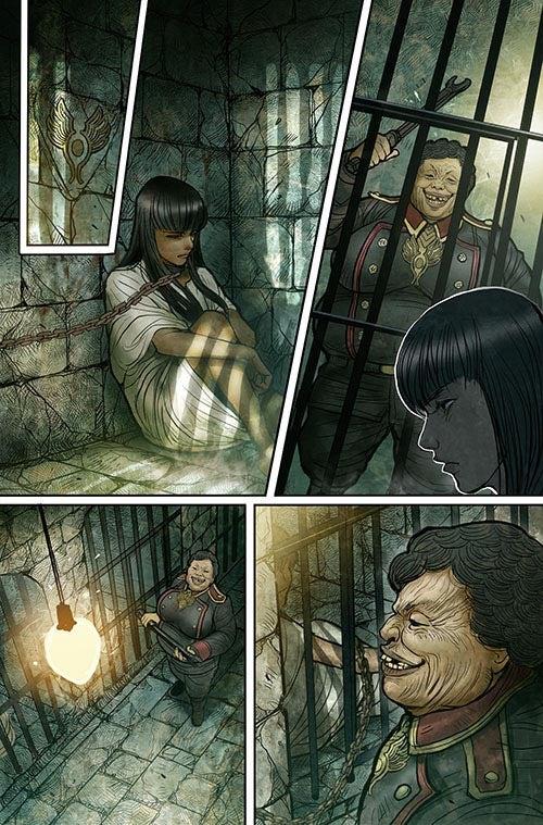 Monstress #1 - Page Six