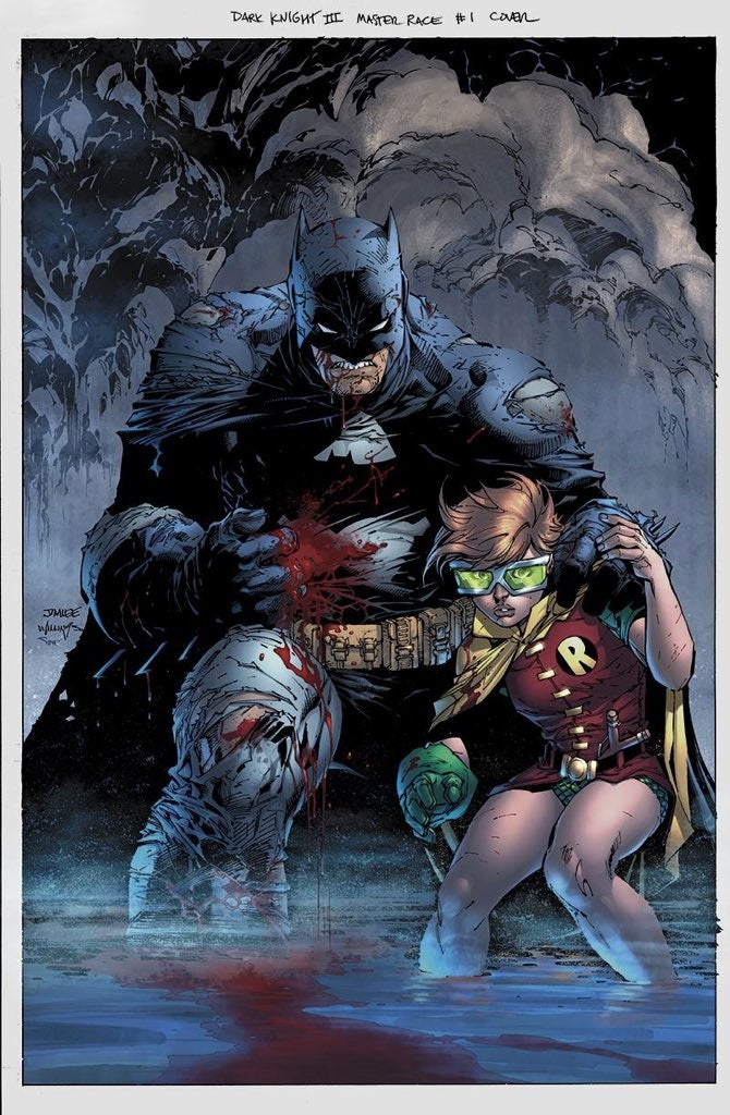 Dark Knight III Jim Lee Finished Variant Cover Revealed