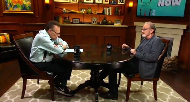 Larry King Releases Wes Craven Tribute Episode