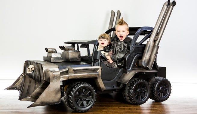 Custom Mad Max Power Wheels Is Epic