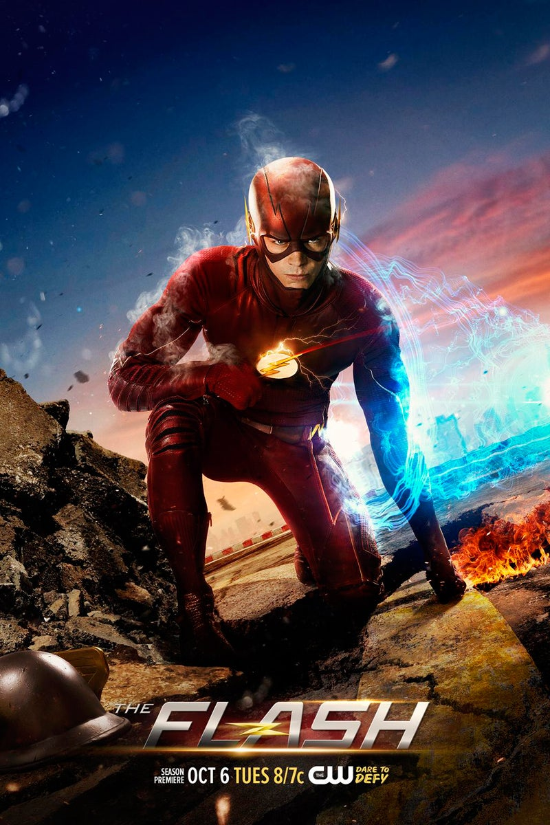 The Flash Temporada 2  1080p  Dual Latino – Ingles