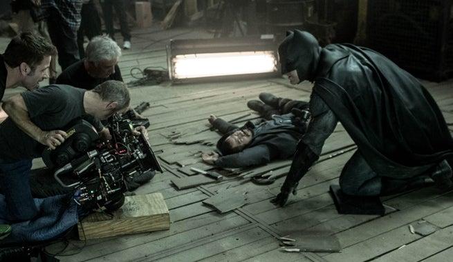 Batman V Superman Director Zack Snyder Describes Ben Afflecks First Time In The Batsuit