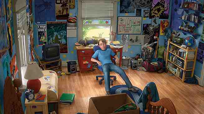 Fans Create Real Life Andy S Room From Toy Story 3
