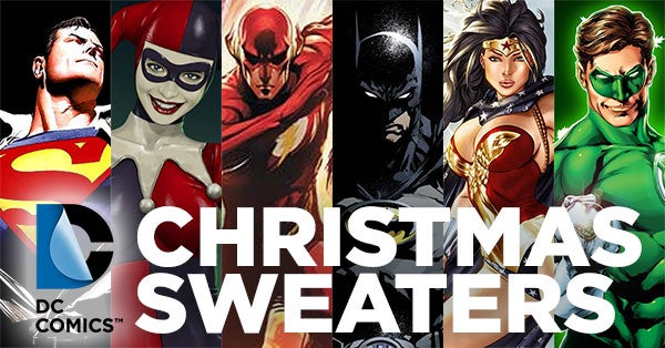 DC-Comics-Christmas-Sweaters