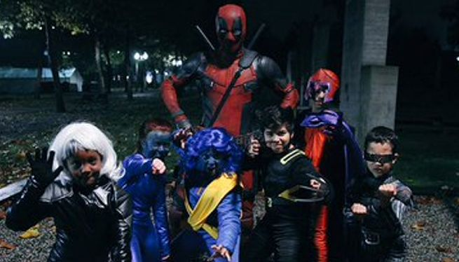 Ryan Reynolds Shares Hilarious Deadpool And X-Men Halloween Message