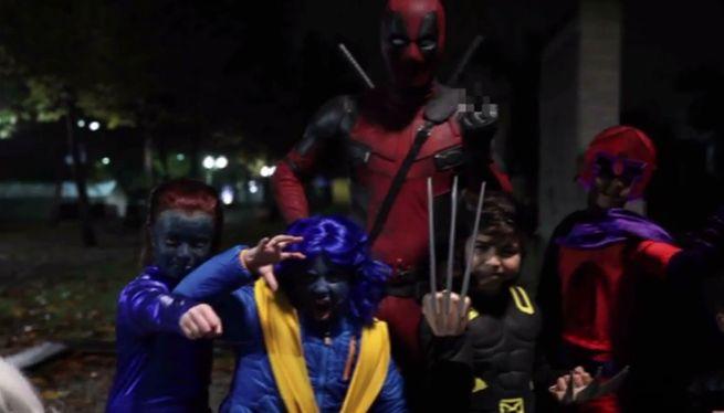 Ryan Reynolds Releases How Deadpool Spent Halloween Video