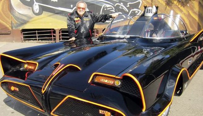 George barris tv batmobile designer has died - Badmobel designer ...