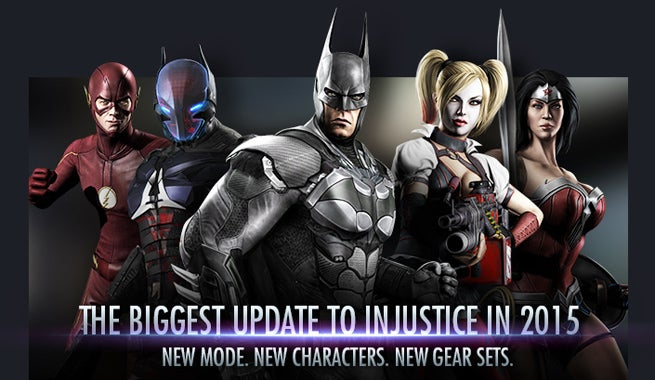 Injustice god among us gets arkham knight cw flash more voltagebd Gallery