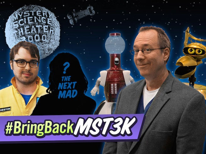 Mystery Science Theater 3000 Is Coming Back, And Here's Its New Host