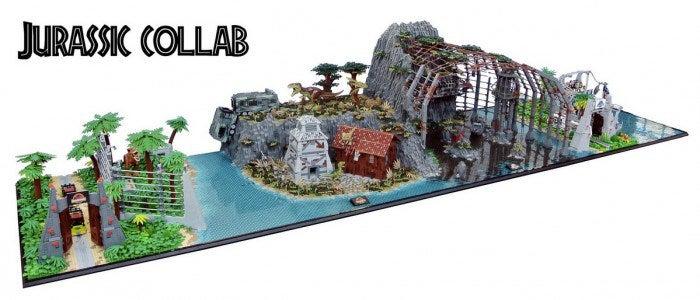Jurassic Park Lego Creation Is Massive