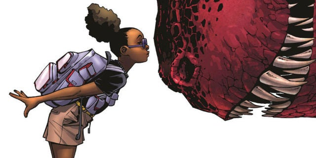 Moon Girl and Devil Dinosaur Cover