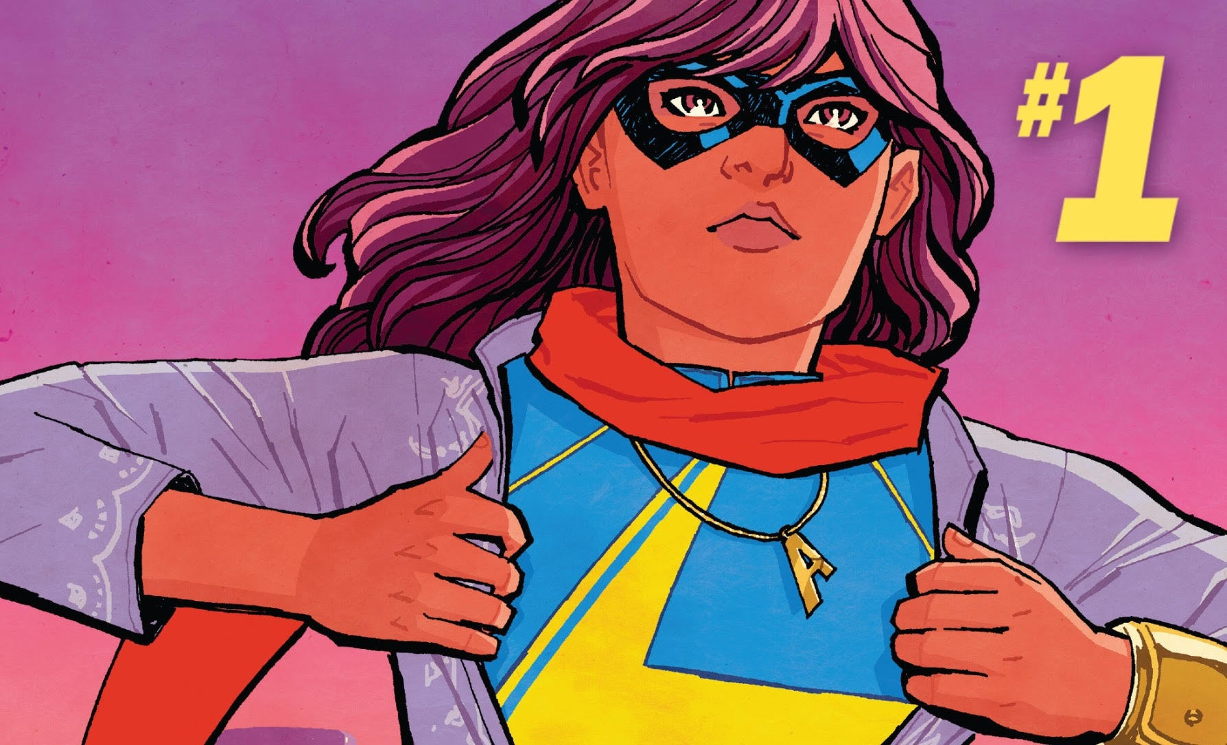 Ms Marvel #1 Cover